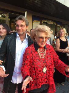 Народная артистка С. Дружинина и актер А. Домогаров