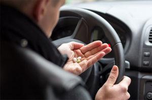 ГИБДД хочет штрафовать за прием лекарств