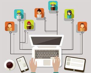 Дистанционное общение работодателя и сотрудников
