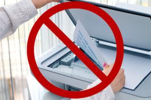 Компаниям запретили использовать скан-копии в работе